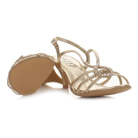 Gold Strappy Shoes Wedding by Gold Strappy Heels For Wedding