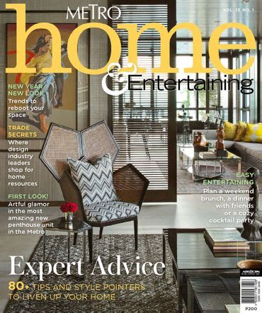 home design magazine philippines home design magazines publications to get inspiration