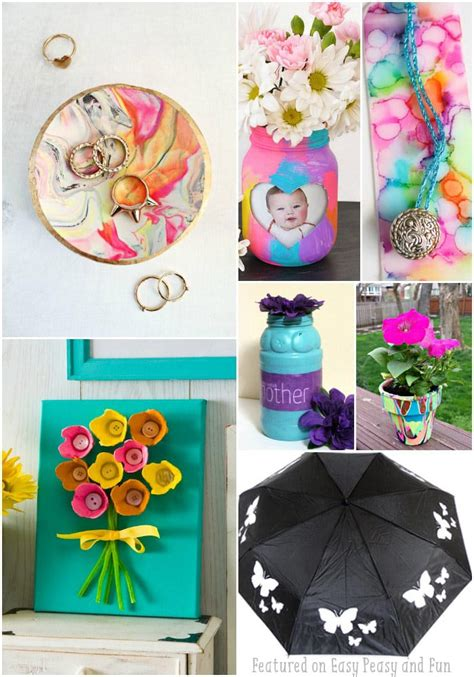 day kid crafts 25 mothers day crafts for most wonderful cards