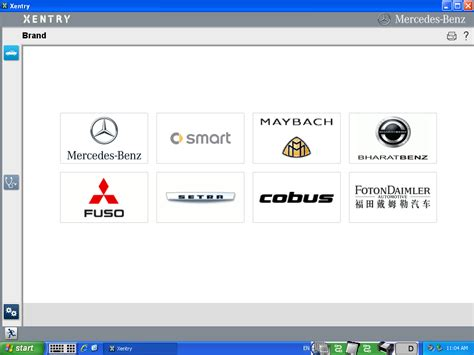 mb mercedes xentry software mb mercedes