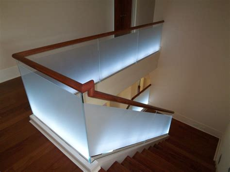 glass banister kits gorgeous interior stair railing glass founder stair