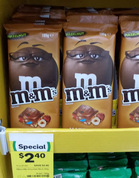 Mars Hazelnut Chocolate Block 155g new on the shelf at woolworths 13th may 2017 new