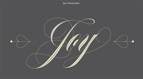 joy tattoo font new tattoo font released