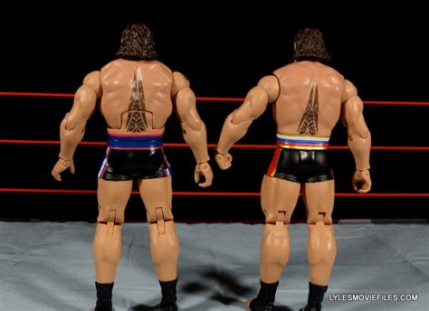 tattoo on rusev s arm wwe mattel rusev and lana battle pack figure review