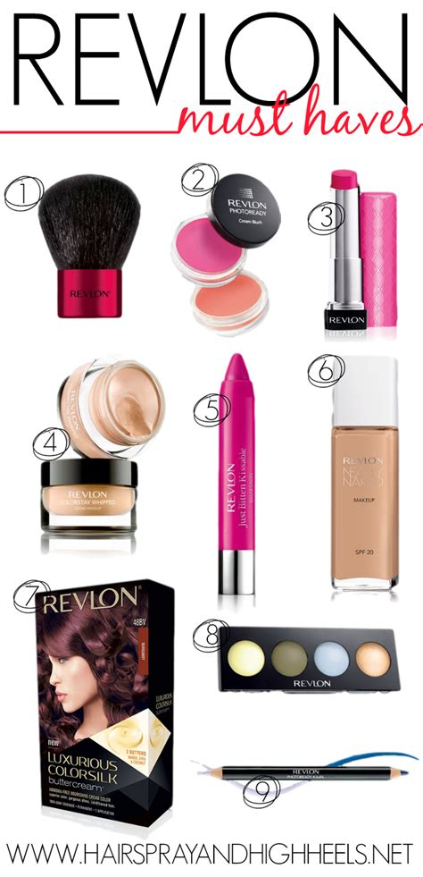 12 Best Products by Best Revlon Products Hairspray And Highheels