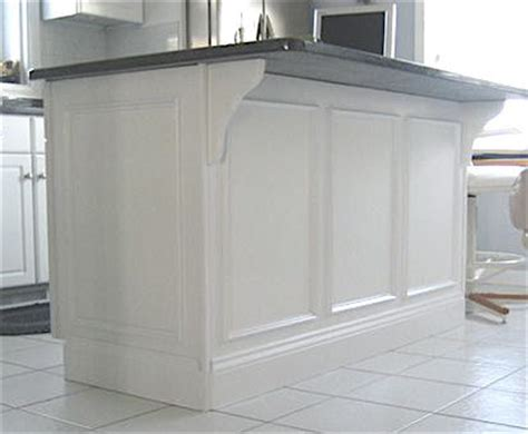 Kitchen Island Panel Ideas Moulding And Millwork Manufacturer And Installer Of