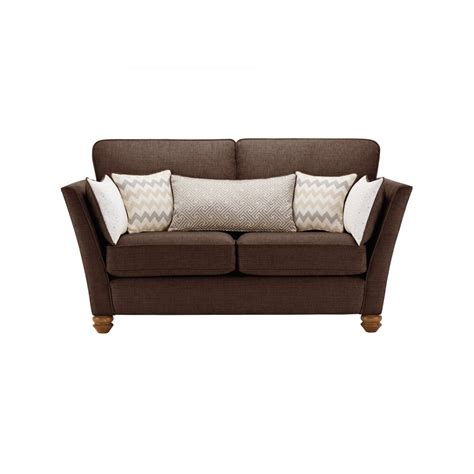 oak furniture land sofa gainsborough 2 seater sofa in brown by oak furniture land