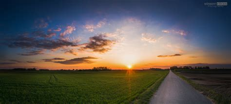 wallpaper radway green spring sunset is not very spring weather by norbertkocsis