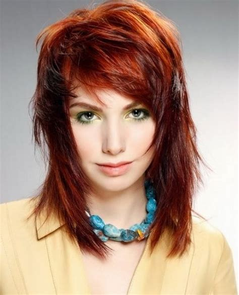 messy shaggy hairstyles for women choppy shaggy hairstyles for women cool looks pinterest
