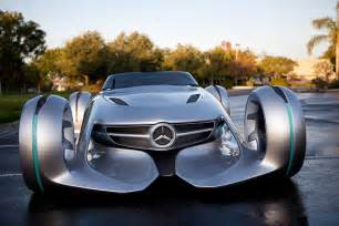 Mercedes Prototype Mercedes Silver Lightning Concept Is Out Of This World
