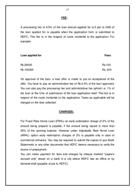 Request Letter For Installment Payment Of College Fees comparison home loan schemes of hdfc with other banks