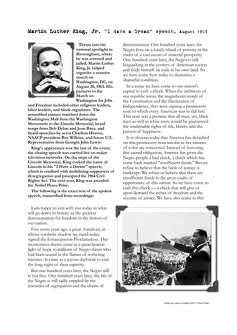 printable version of i have a dream speech ks3 apprentice style project sow resource by simonccx