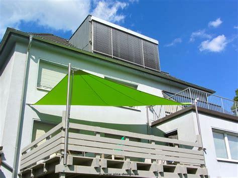 befestigung sonnensegel balkon sonnensegel f 252 r den balkon in premium qualit 228 t pina design 174