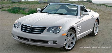 Mercedes And Chrysler by Chrysler Crossfire And Srt 6 The Retuned Mercedes Sl