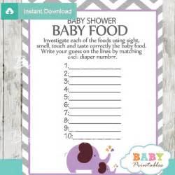 Printable Fall Decorations - lavender elephant baby shower games bundle d108 baby printables