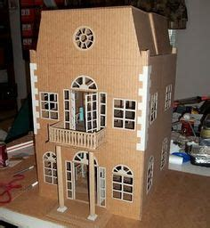 Doll houses particularly for monster high dolls cardboard doll house