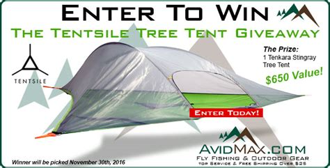 Tent Giveaway - the tentsile tree tent giveaway avidmax
