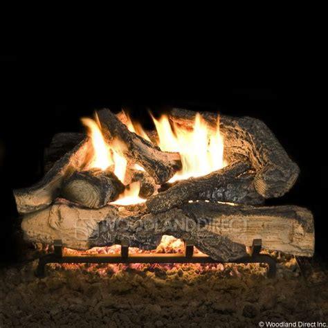 fireplace ceramic logs rustic timber vented ceramic gas log set 36 quot gas logs