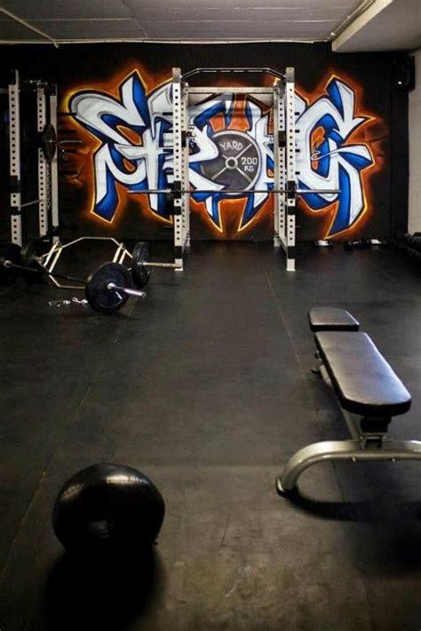 gym graffiti idea