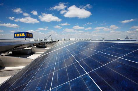 solar ikea here s how many solar panels we d need to provide power