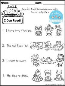Kindergarten Reading Comprehension Worksheets by 25 Best Ideas About Kindergarten Worksheets On