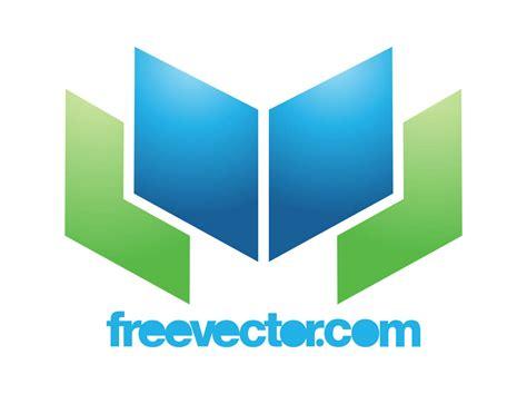 logo shapes book open book logo vector graphics freevector