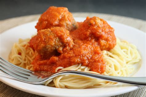 Bon Appetit Kitchen Collection spaghetti and meatballs recipe dishmaps
