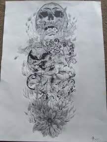 skull tattoos for men sleeves tattoos art