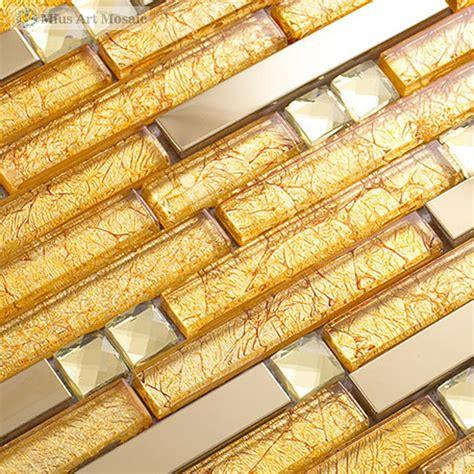 piastrelle all ingrosso acquista all ingrosso oro piastrelle di vetro da