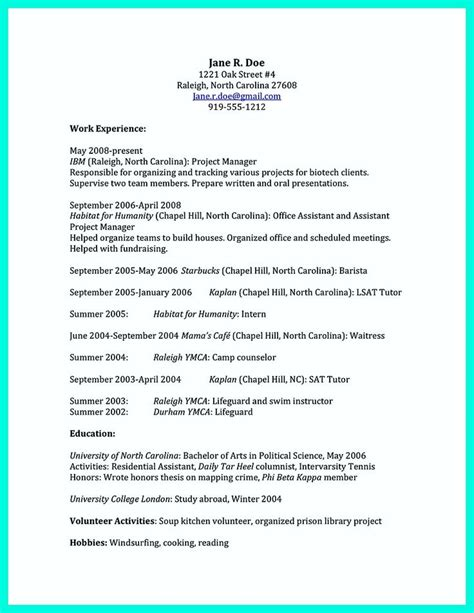 college resume template get best 25 college resume ideas on resume