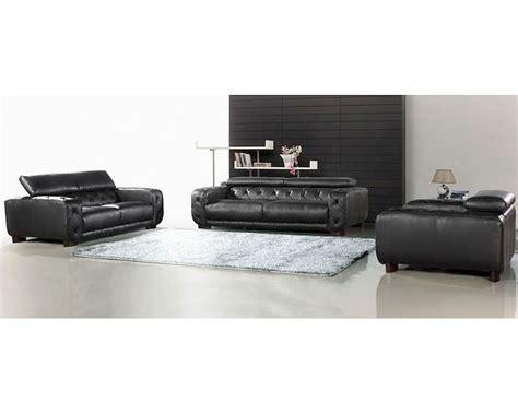 black italian leather sofa set black italian leather tufted sofa set 44l6097