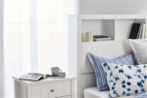 olsen bookend bed frame wbedhead storage matte white