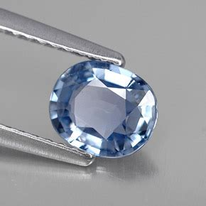 Blue Safir Tanzania 5 85ct sapphire 1 carat oval from tanzania and untreated