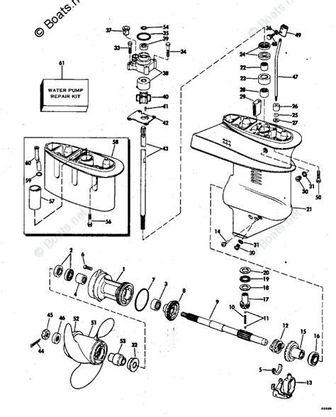 boats net evinrude parts evinrude outboard parts by year 1976 oem parts diagram for