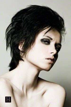 rocker shag haircuts 1000 images about short hairstyles on pinterest pixie