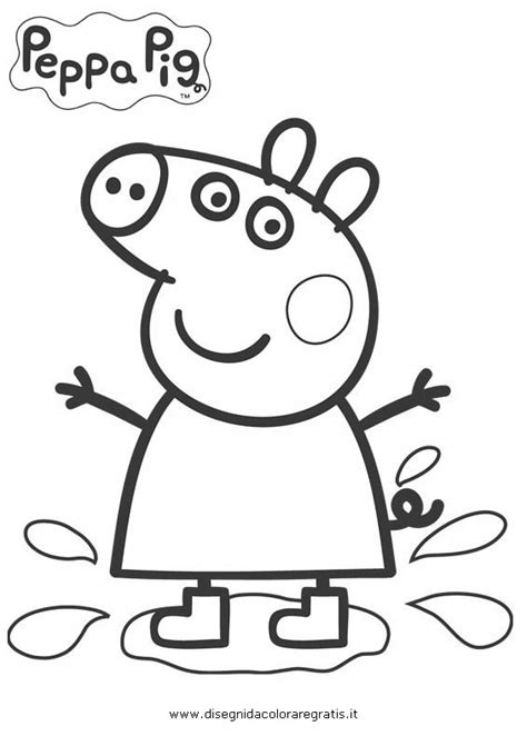 peppa pig swimming coloring page peppa pig swimming coloring pages coloring pages