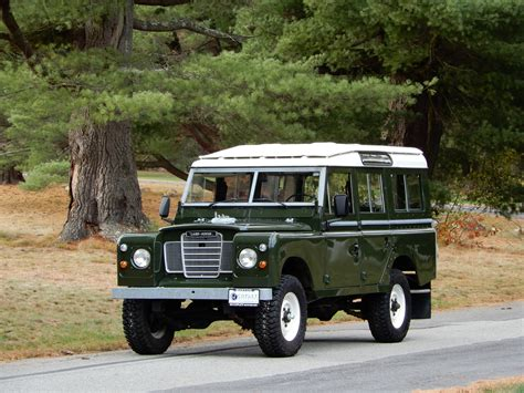 land rover series iii 1982 land rover series iii 109 5 door copley motorcars