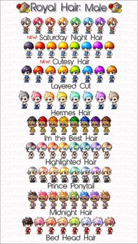 best vip hair cut maplestory 1000 images about maplestory on pinterest character