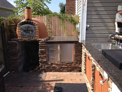 backyard brick pizza oven brick pizza ovens brick oven grills n ovens