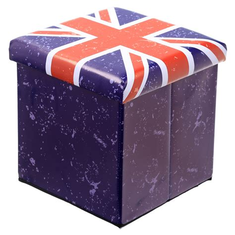 union flag foldable storage stool 18043 puckator ltd