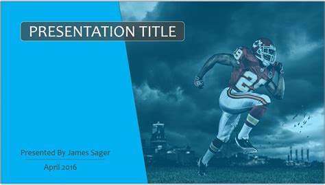 football themed powerpoint 2007 free seattle seahawks ppt 62550 sagefox powerpoint