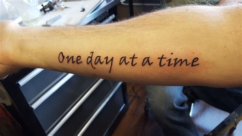 one day at a time tattoo cancer has not stopped me legend outdoors