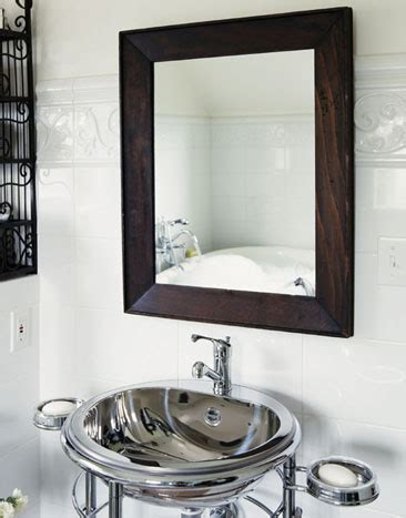 Modern Bathroom Sink And Mirror Contemporary Mirrors Pictures