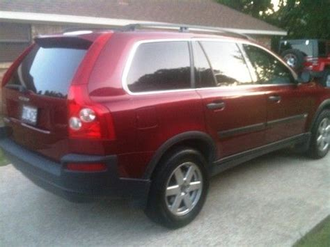 find  maroon  volvo xc   miles  clean auto  maintained  plano