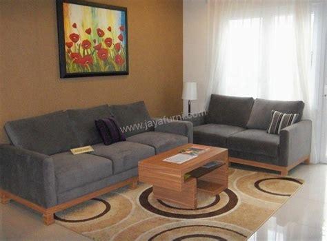 Sofa Ruang Tamu Di Lazada sofa minimalis ruang tamu bludru jayafurni mebel jepara