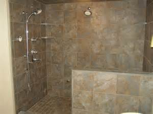tiled bathrooms ideas showers 30 pictures of porcelain tile in a shower
