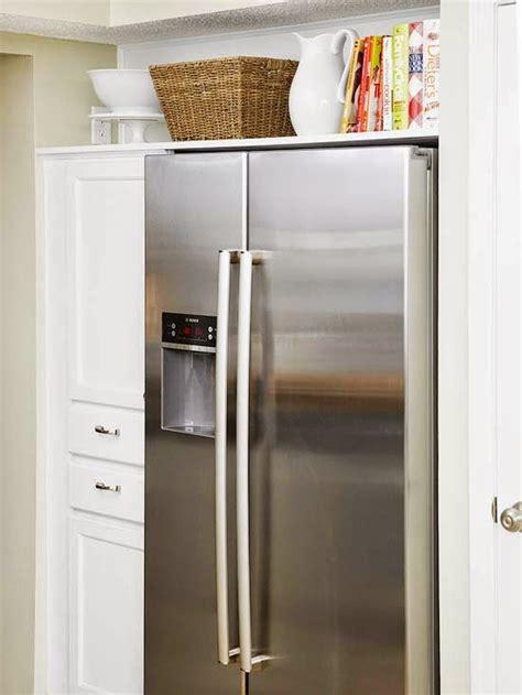 maximize  awkward space   fridge