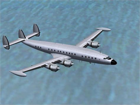 Lockheed L-1049 Super Constellation Paint Kit for FS2004 L 1049