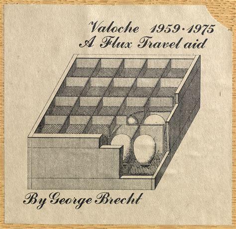 fluxus pavia fondazione bonotto brecht george valoche 1959 1975