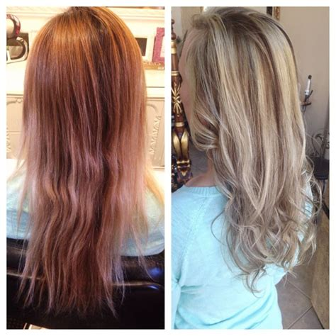 how to section hair for highlights and lowlights before after highlights and lowlights styles and color